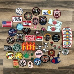 Lot Of Sew On Patches